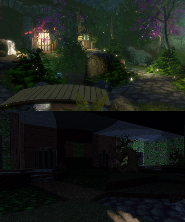 Arcadia, Demade (original level screenshot by Jay Kyburz)